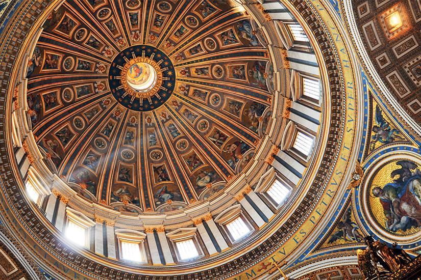 image Italie Rome Interieur de la basilique Saint Pierre 05 as_40850969