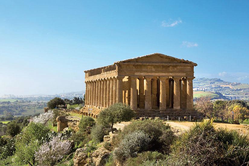 image Italie Sicile Agrigente temple concorde  fo