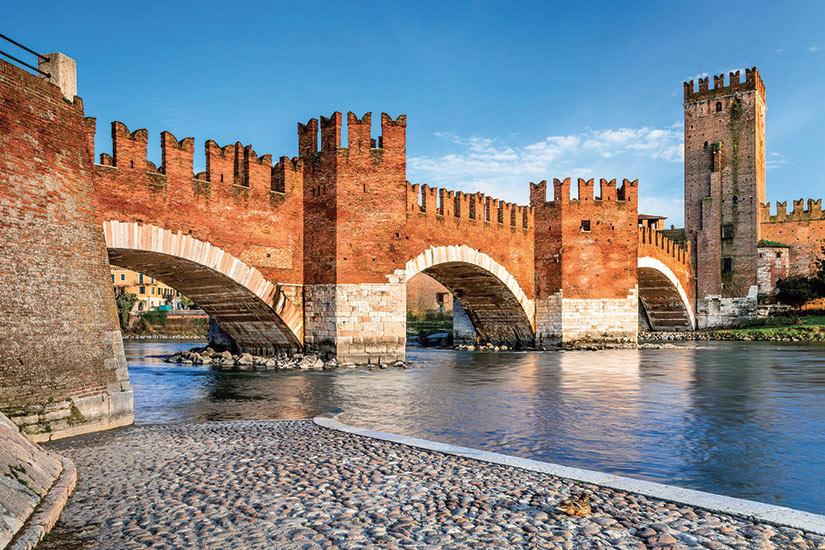 image Italie Verone Scaligero pont  fo