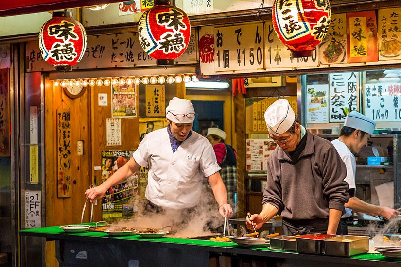 image Japon Osaka Les repas tard soir  it