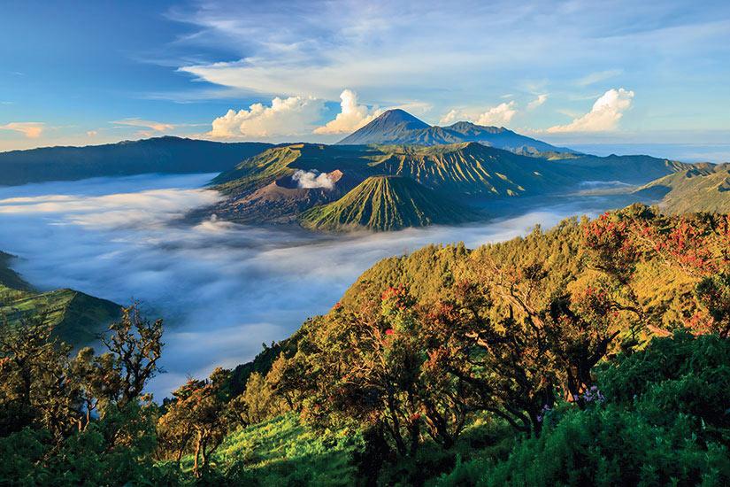 image Java Bali Bromo volcano au lever du soleil  fo