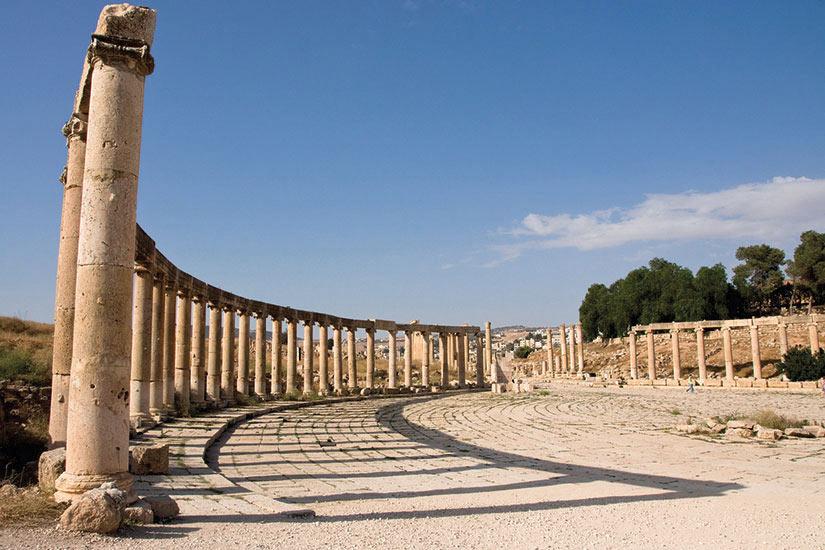 image Jodarnie Jerash ruines romaines  fo