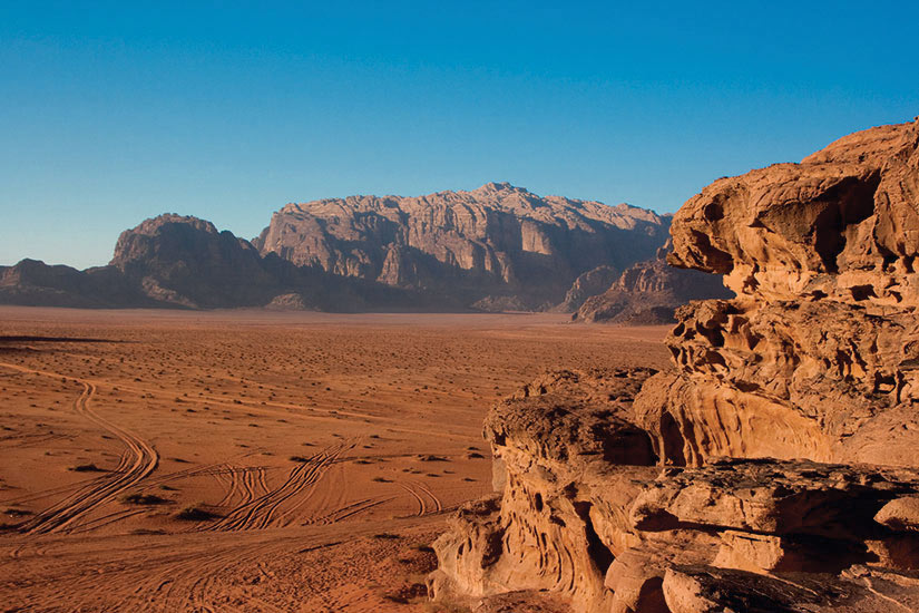 image Jordanie Wadi Rum desert  fo