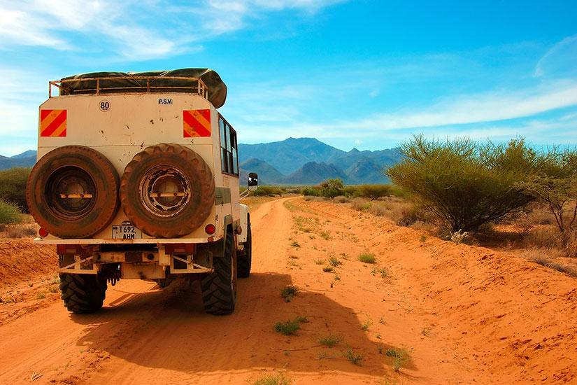 image Kenya Route lac Turkana Maralal  fo