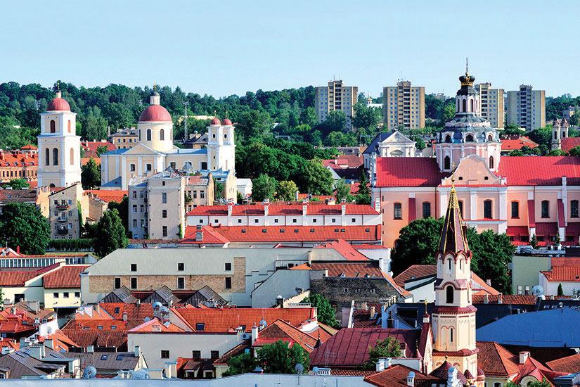 image Lituanie Vilnius panorama  fo