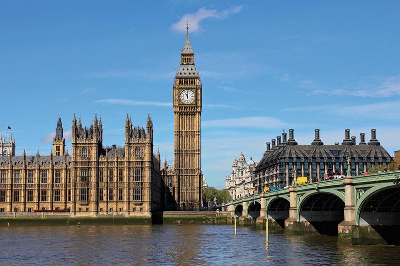 image Londres Westminister Bridge avec Big Ben  fo