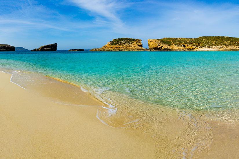 image Malte Comino Ile Lagon bleu  fo