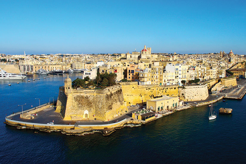 image Malte port historique La Valette  fo