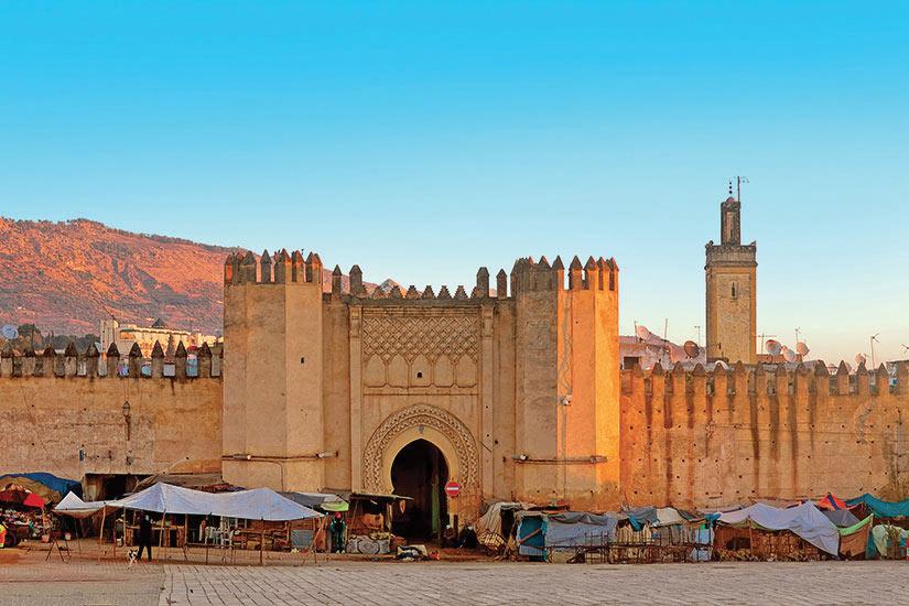 image Maroc Fez Porte de l ancient medina  fo