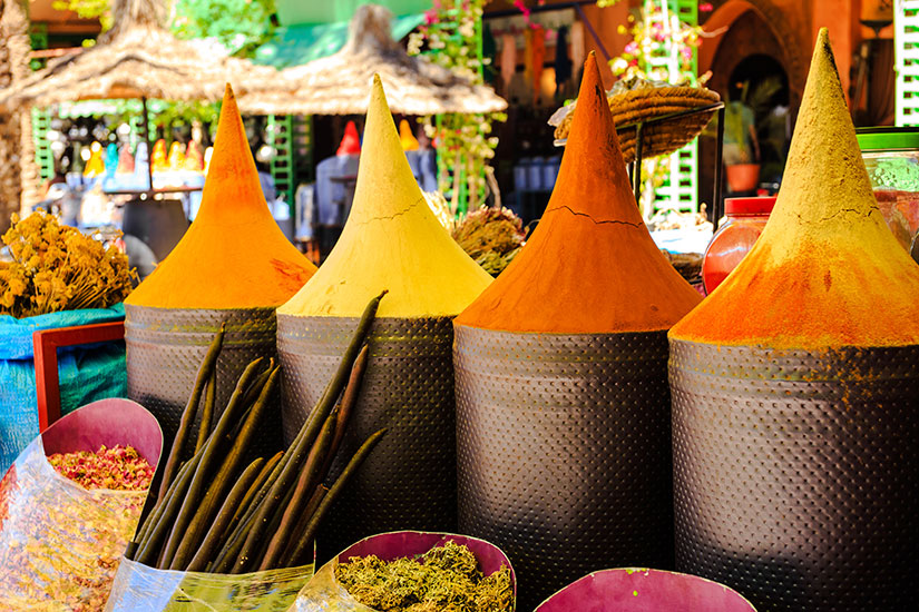 image Maroc Marrakech Etal epices marocaines  it