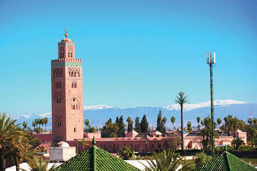image Maroc Marrakech Minaret Mosquee Koutoubia  it