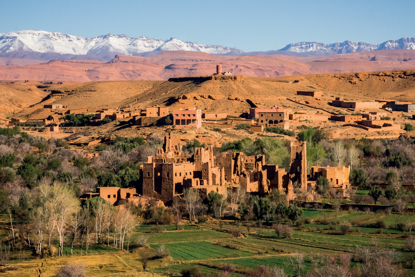 image Maroc marakech montagne village sahara 73 fo_53040411