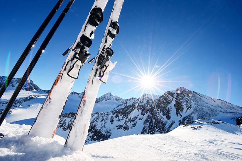 image Materiel ski hiver  fo