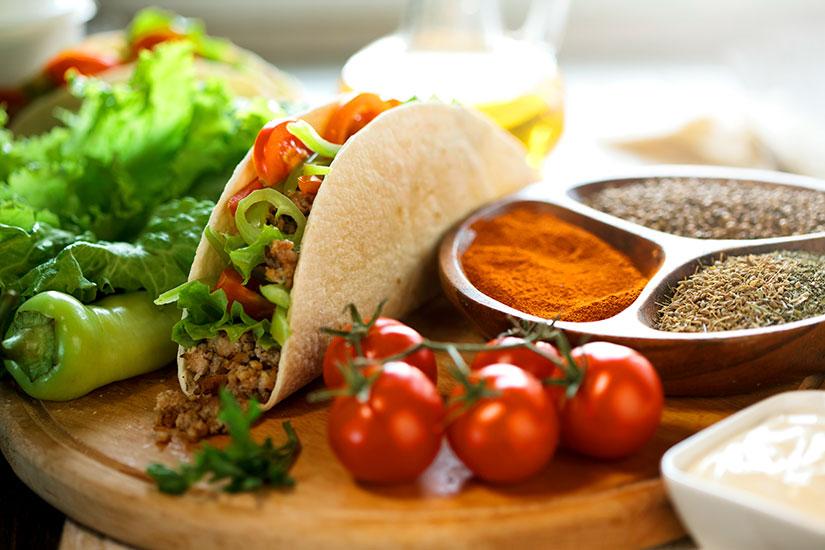 image Mexique Cuisine mexicaine tacos  it