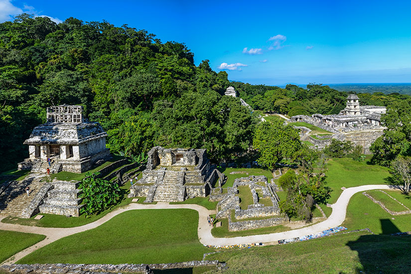 image Mexique Palenque ruines maya  it
