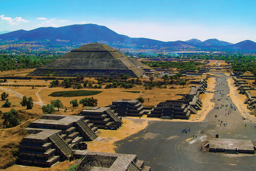image Mexique Teotihuacan Pyramides de Teotihuacan  it