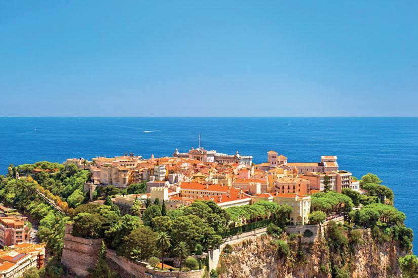 image Monaco Vue panoramique avec le palais du prince  fo