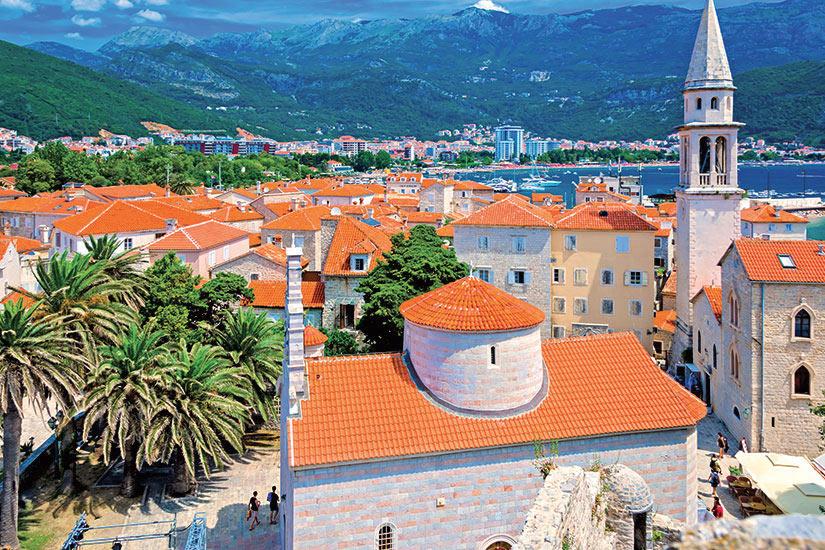 image Montenegro Budva vieille ville  fo