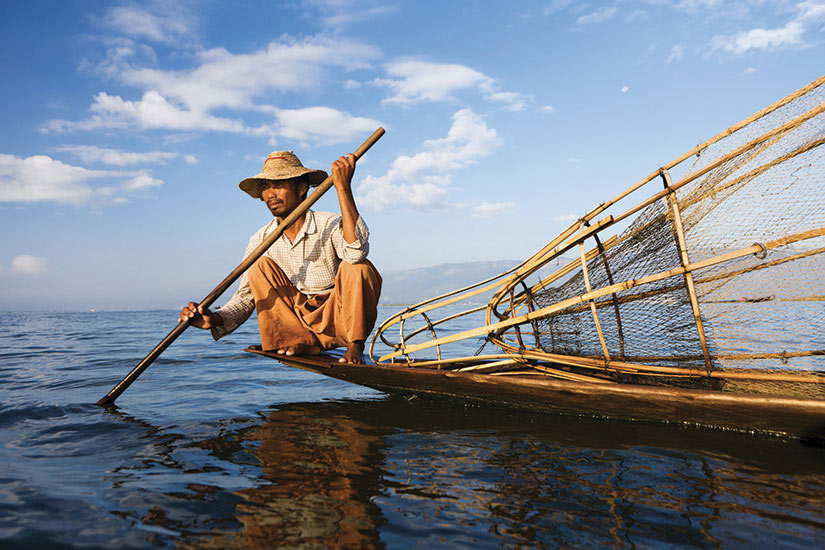 image Myanmar Lac Inle Pecheur  it