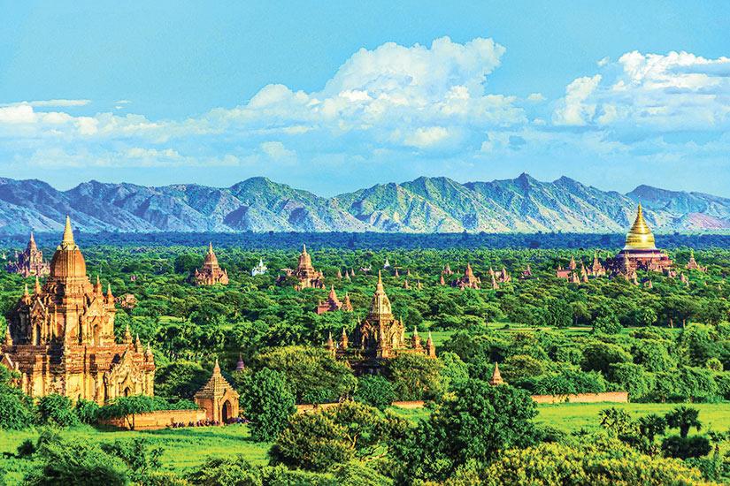 image Myanmar Mandalay Temples de Bagan  fo