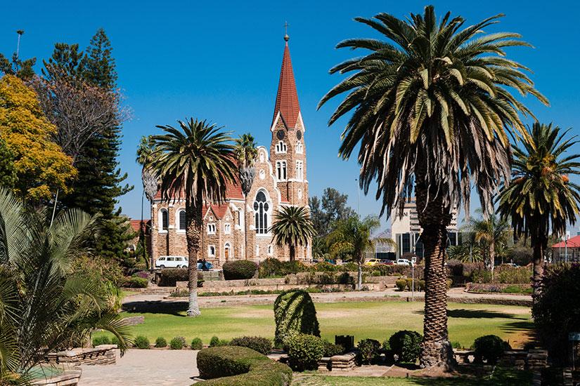 image Namibie  Windhoek eglise  fo