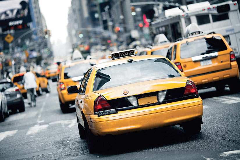 image New York taxi  fo