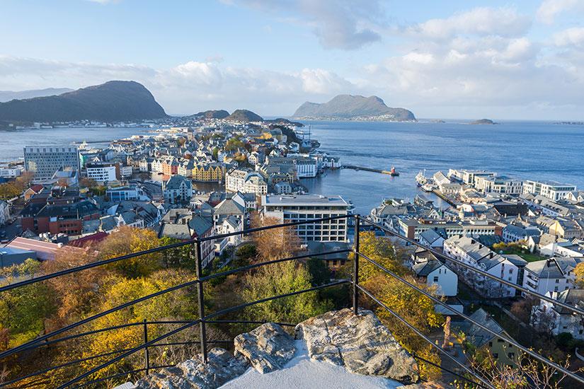 image Norvege Alesund mer  it