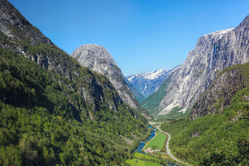 image Norvege Flam vallee  fo
