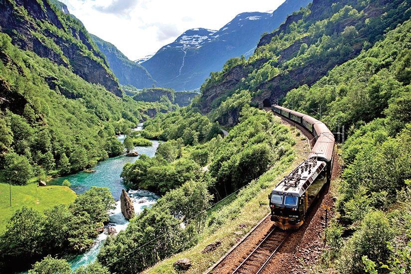image Norvege Flamsbana chemin de fer