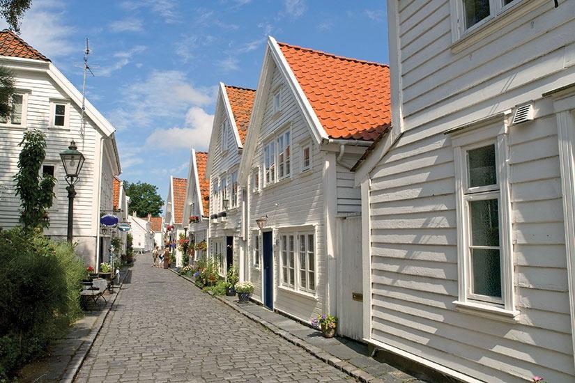 image Norvege Gamle Stavanger Stavanger Wood House  it