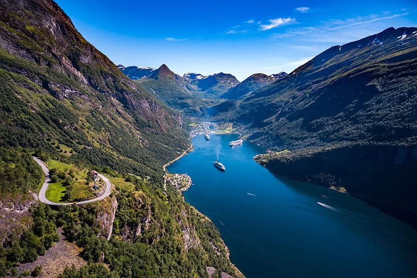 image Norvege Geiranger fjord  fo