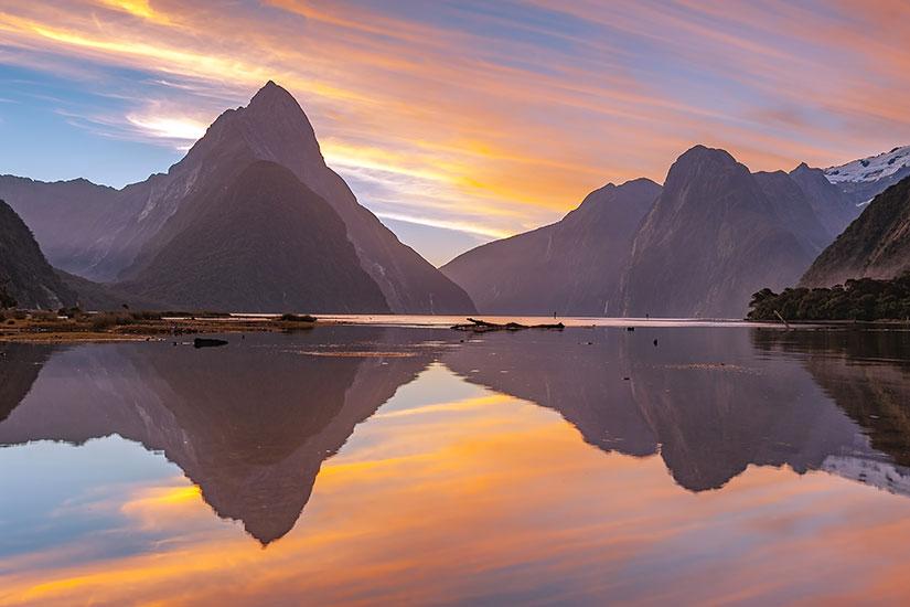image Nouvelle Zelande Ile du Sud Milford Sound  it