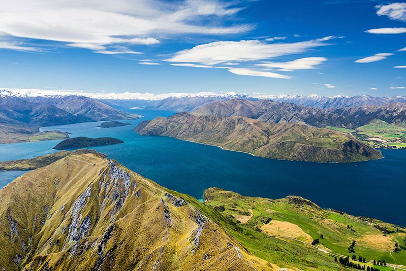 image Nouvelle Zelande Lac Wanaka Mont Aspiring  it