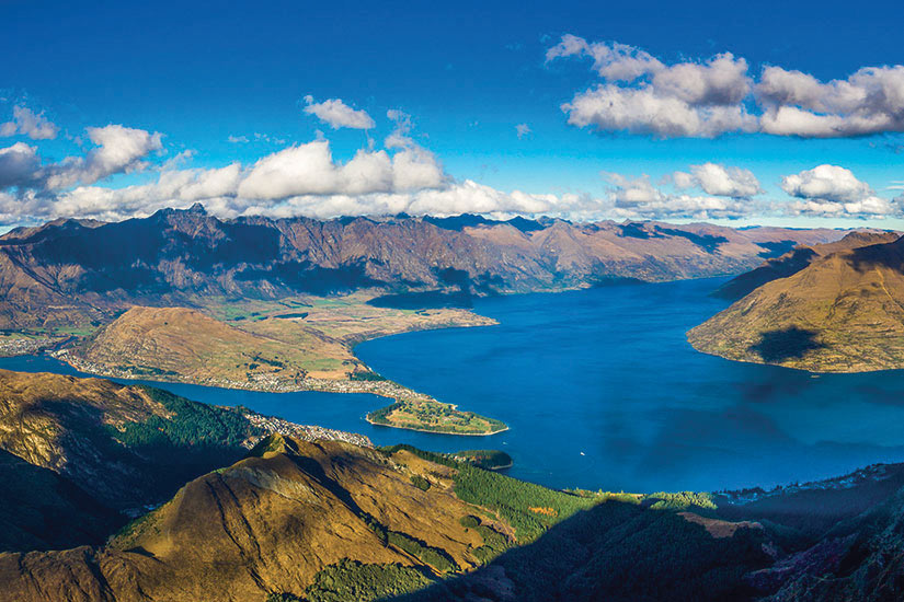 image Nouvelle Zelande Queenstown panorama  fo