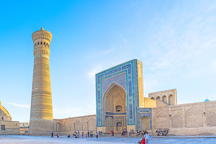 image Ouzbekistan Bukhara Great Minaret  it