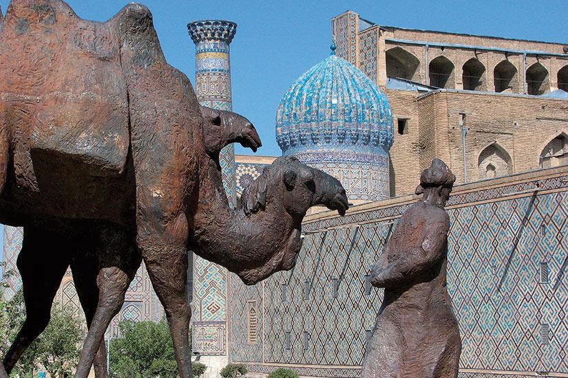 image Ouzbekistan Samarcande  fo