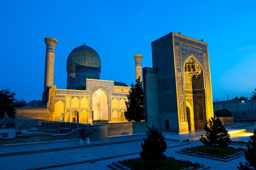 image Ouzbekistan Samarcande Guri Amir Mausolee  it