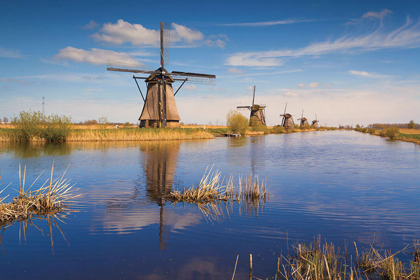 image Pays Bas Kinderdijk  it