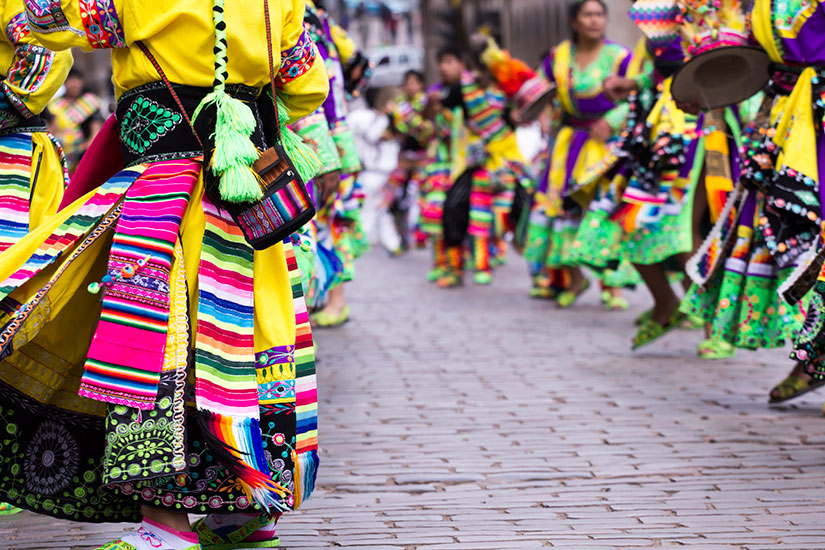 image Perou Cusco Danseurs  it