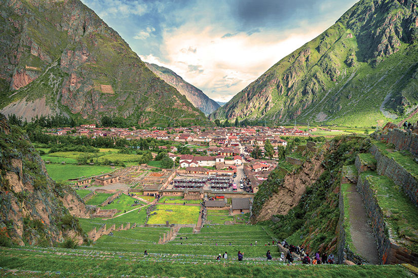 image Perou Vallee Sacree ancienne forteresse inca  fo