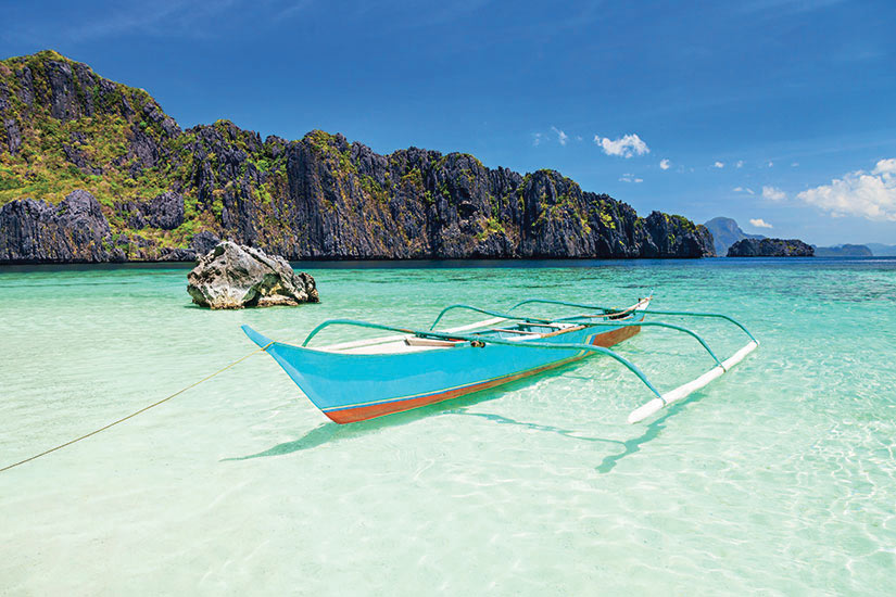 image Philippines Cebu bateau sur l eau  it