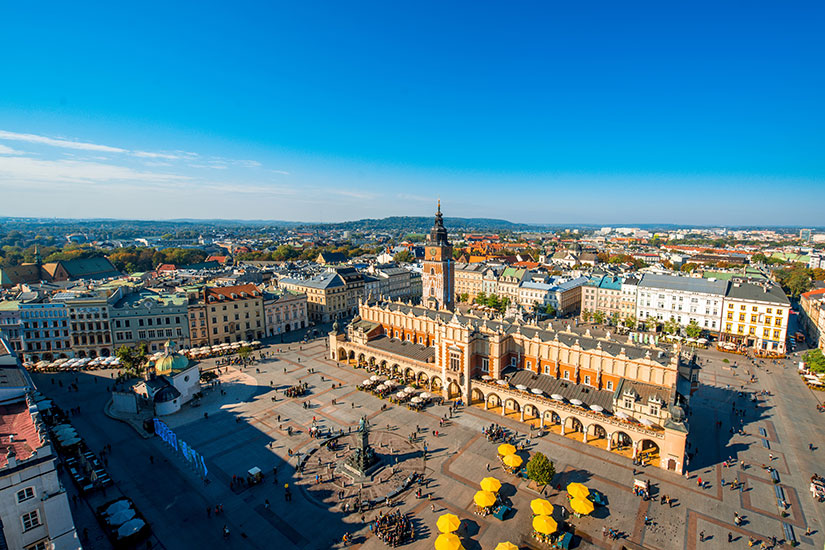image Pologne Cracovie panorama  fo