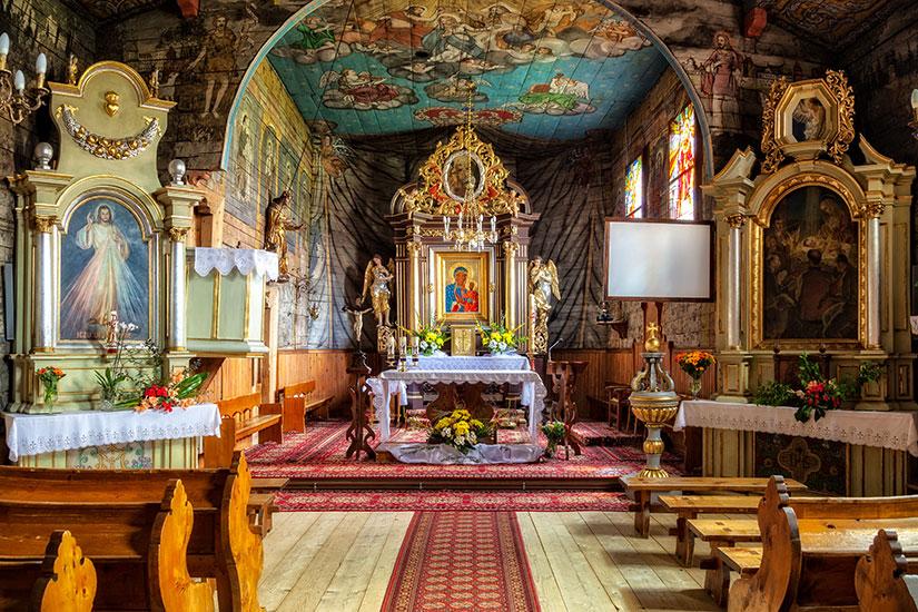 image Pologne Zakopane Saint Jean Apotre eglise  fo