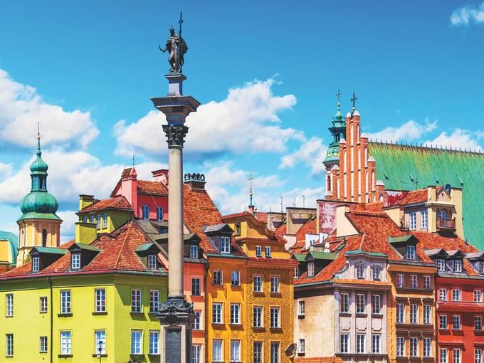 image Pologne varsovie toits