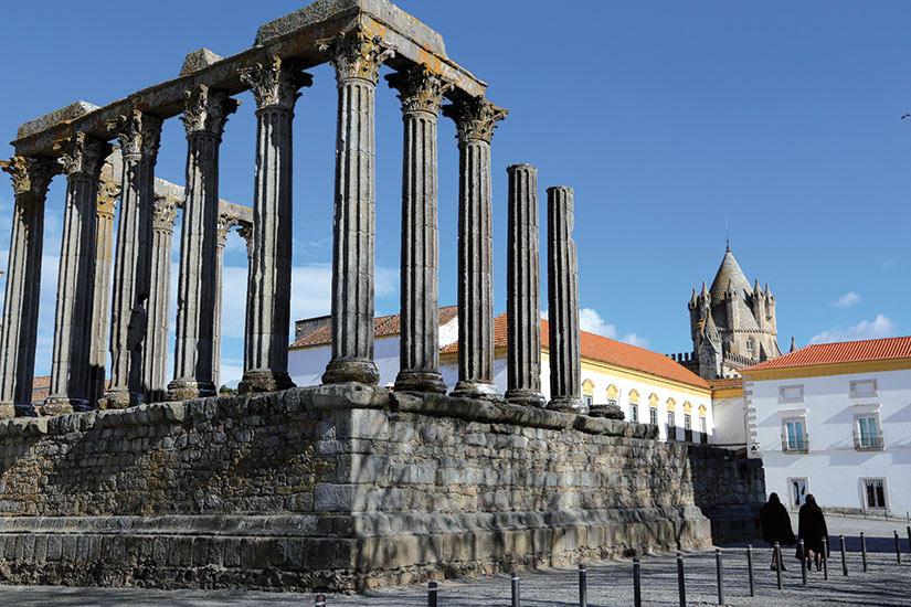 image Portugal Evora temple roman  fo
