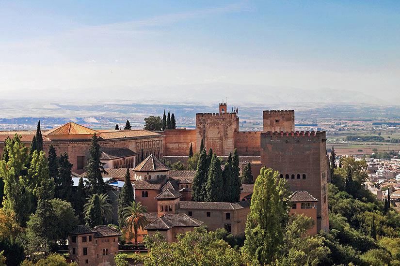 image Portugal Grenade paysage urbain espagnol  fo