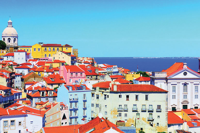 image Portugal Lisbonne Panorama  fo