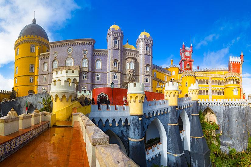 image Portugal Lisbonne Pena Palace  fo