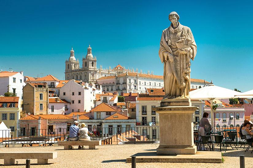 image Portugal Lisbonne Saint Vincent Statue  fo