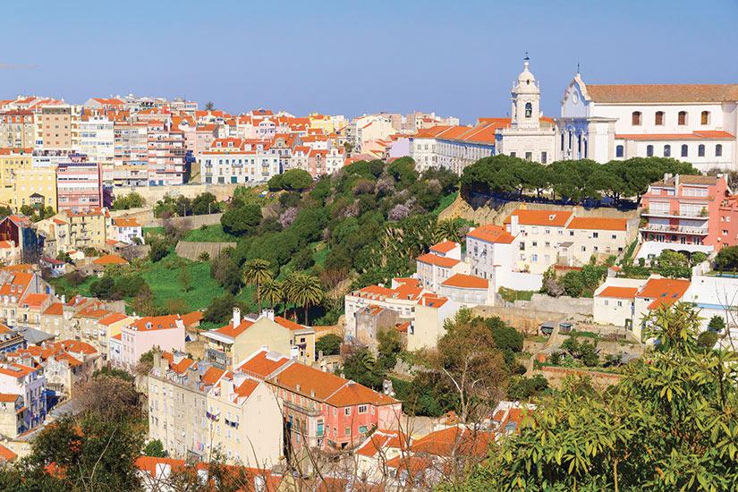 image Portugal Lisbonne vue aerienne  fo